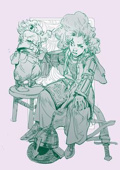 """Day 20: """"You really ought to be more careful Sik, this one could have been bad"""". She flinched as the needle was pushed into her skin again """"Oh stop mewling like and old woman, and stitch me up, will you? I must get back to the gate"""" The little nisse shook his head, tutting as he pulled the last few stitches tight, his nimble fingers working the thread and needle with great care."""