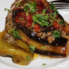 Фаршированные баклажаны по-армянски - пошаговый кулинарный рецепт с фото на Повар.ру