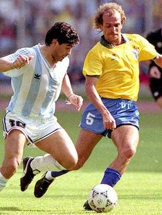 Alemao & Diego Maradona