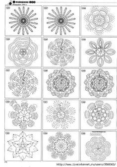 Crocheted flowers « protsenka