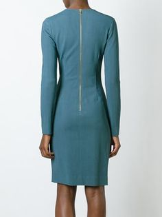 Lanvin draped detail dress