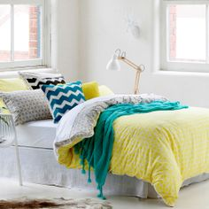 Home Republic Kelsey - Bedroom Quilt Covers & Coverlets - Adairs Online