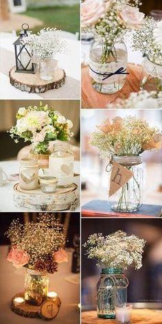 51 Ideas for vintage wedding table centerpieces decor - Decoration Home Trendy Wedding, Rustic Wedding, Dream Wedding, Wedding Vintage, Vintage Weddings, Wedding Simple, Elegant Wedding, Wedding Week, Wedding Burlap
