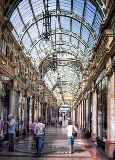 Victoria Quarter, Leeds, England - who said cities aren't pretty? I love all of the arcades and found my wedding dress in one of their tucked away shops