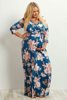 46a27f18508 Plus Size Maternity Dresses
