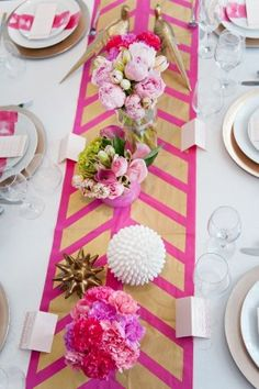 Pink and gold might be painted on our hearts over here at SMP, because if there is one color combo we just can't get enough of - it's the combination of those two hues. Throw in a little sparkle, some feathers
