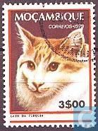 Postage Stamps - Mozambique - Cats