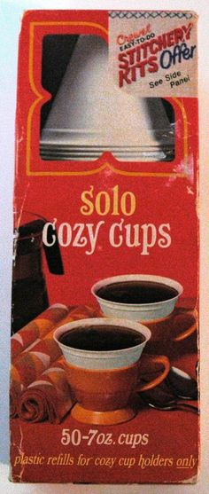 Vintage Solo Cup Refills- Unopened/Factory Sealed