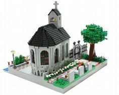Seaside church: A LEGO® creation by Matija Grguric : MOCpages.com