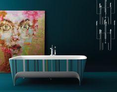 Colour For Modern Bathrooms: Pop Limited Edition Accademia Bathtub