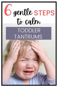 Use gentle parenting techniques to calm your child's tantrums. Prevent tantrums in toddlers | tantrum taming tips | stopping toddler tantrums Peaceful Parenting, Gentle Parenting, Kids And Parenting, Parenting Hacks, Adhd Kids, Autistic Children, Toddler Discipline, Attachment Parenting, Toddler Preschool