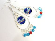 Hey, I found this really awesome Etsy listing at https://www.etsy.com/listing/222641193/miami-dolphins-football-dangle-earrings