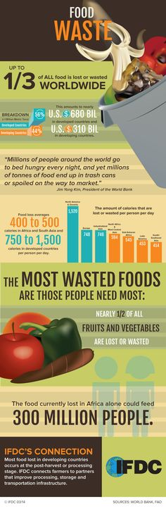 Food Waste by The Billions #infographics #Image — Lightscap3s.com