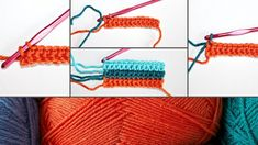 How to Change Colors in Crochet Crochet Cat Pattern, Crochet Stitches Patterns, Diy Crochet, Crochet Hooks, Crochet Ideas, Triple Crochet Stitch, Double Crochet, Change Colors In Crochet, Crochet Flower Squares