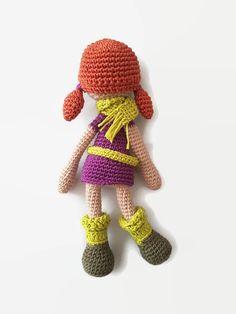 PATTERN: LISA Amigurumi Doll. Doll crochet by CreoErgoSumHandmade