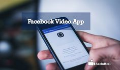 """Facebook Video App for Content creators to produce live videos or On-Demand videos. Facebook dedicated """"Facebook Creator"""" app. Facebook Marketing, Marketing And Advertising, Seo News, Facebook Video, The Creator, App, Content, Live, Videos"""