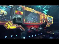 Starcraft 2 Stage Transitions at Blizzcon 2015