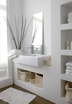 Design Ideas Modern bathroom ideas - cool bathroom furniture Design IdeasSource : Moderne Badezimmer Ideen - coole Badezimmermöbel by Bathroom Furniture, Modern Bathroom, Furniture, Amazing Bathrooms, Bathroom Decor, Bathroom Furniture Modern, Bathroom Design, Zen Bathroom Decor, Zen Bathroom