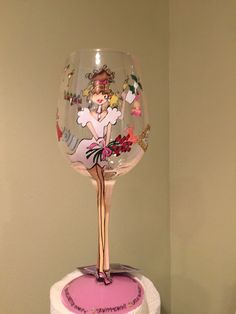 Wine glass for the Bride!! Order (251) 928-9931