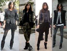 Couture at the Door: STYLE ICON: Emmanuelle Alt