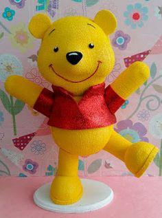 fofucho Winnie Pooh/ fomi/goma eva/foamy
