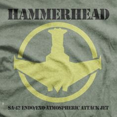 Space: Above and Beyond - Hammerhead Fighter Tee