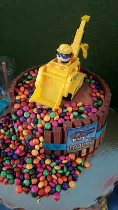 Pastel Rubble Fiesta de Cumpleaños Paw Patrol