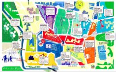A quirky map of Madrid!