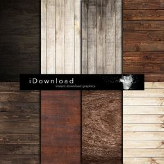 Wood digital paper WOOD DIGITAL PAPER with wood $5.12 - this is perfect!!! not shabby or too distressed!
