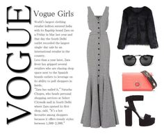 Vogue by anyaliong on Polyvore featuring Marissa Webb, Chicwish, Alexander Wang and Prada
