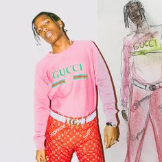 """102k Likes, 1,185 Comments - PRETTY FLACKO (@asaprocky) on Instagram: """"THEM PANTS AINT EVEN COMING OUT THO"""""""