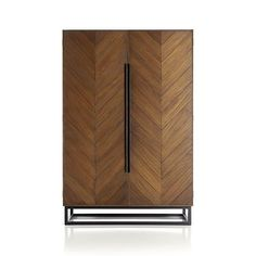 Crate & Barrel Estilo Cabinet