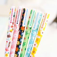 The Secret Garden Color Gel Ink Pen 6-pack