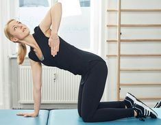 Advice For Improving Physical Fitness And Strength – A site about woman! Chakra Meditation, Weight Loss Inspiration, Physical Fitness, Get In Shape, Back Pain, Pilates, Health Fitness, Hair Beauty, Yoga
