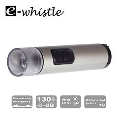 ewhistle 2in1 Electronic Whistle  FlashlightPoseidon For Hiking Camping Outdoors Survival EmergencyEarthquake Evacuation Natural Disaster Flood Tornado Hurricane Volcano Bush Fire * Check this awesome product by going to the link at the image. This is an Amazon Affiliate links.