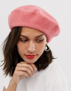Buy ASOS DESIGN wool beret at ASOS. With free delivery and return options (Ts&Cs apply), online shopping has never been so easy. Get the latest trends with ASOS now. Paris Winter Fashion, French Hat, Winter Hats For Women, Women Hats, Asos Fashion, Wool Berets, Long Scarf, Bad Hair, Beauty Women