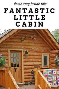 Come stay inside this fantastic little cabin