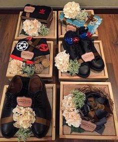 52 ideas wedding gifts ideas baskets for 2019 Wedding Hamper, Wedding Gift Baskets, Rustic Wedding Gifts, Wedding Gift Wrapping, Wedding Gift Boxes, Wedding Cards, Engagement Gift Baskets, Trousseau Packing, Diy Wedding Decorations