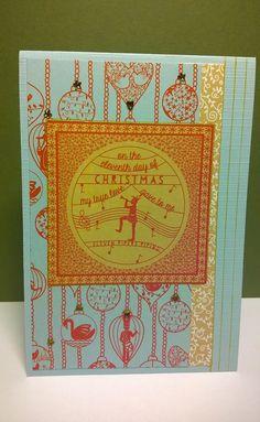 12 days of christmas, ik blijf het leuk papier vinden lijn van 2 jaar terug Notebook, Cover, Books, Paper, Libros, Book, Book Illustrations, The Notebook, Exercise Book