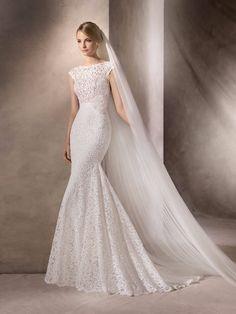 Decote canoa para o seu vestido de noiva! Mais