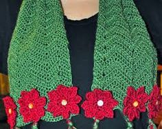 crochet poinsettia pin pattern - Buscar con Google