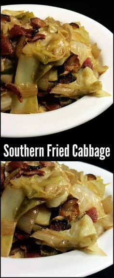 You could make an entire meal out of this Southern Fried Cabbage with bacon and onion! It is the most popular side dish on the site! Millions of people have tried it and loved it. One of our all time favorites! The apple cider vinegar and brown sugar give it a sweet and sour punch of flavor that this Southern flavor to the next level!