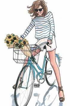 The Sketch Book – Inslee Haynes / Fashion Illustration by Inslee on imgfave Cycle Chic, Fashion Sketches, Fashion Illustrations, Fashion Sketchbook, Drawing Fashion, Illustration Fashion, Design Illustrations, Sketchbook Ideas, Calendar Girls