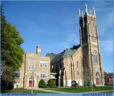 George Street United Church Peterborough Ontario, Places Of Interest, Old City, Small Towns, All Over The World, Canada, Mansions, Architecture, Live