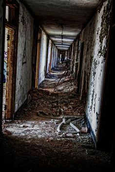 I think there will be more of these in a few years. SO SAD Old Abandoned Buildings, Abandoned Mansions, Old Buildings, Abandoned Places, Abandoned Castles, Desert Places, Gary Indiana, Most Haunted Places, Ghost Towns