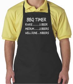 Aprons for Men, Black Apron With Pockets, Funny Barbecue Grill Apron For Dad Husband by OurTshirtShack on Etsy Grill Apron, Bbq Apron, Chef Apron, Christmas Aprons, Christmas Gifts For Him, Funny Aprons For Men, Grilling, Barbecue Grill, Black Apron