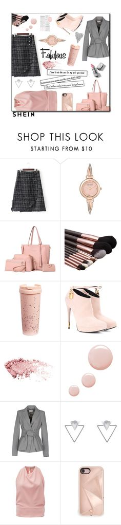 """""""Overlap skirt and flirt"""" by jaystilo ❤ liked on Polyvore featuring Anne Klein, ban.do, Tom Ford, Topshop, Patrizia Pepe, Eloquii, Balenciaga, Rebecca Minkoff and Burberry"""
