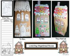 gingerbread house activities, gingerbread house crafts, gingerbread ...