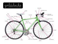 Anatomy of a Bike   Goldilocks Women Only Bike Ride