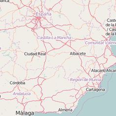 Geographic tourist map of Spain: what to see in Spain. | spain.info in english